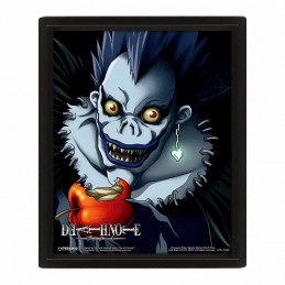 Cuadro Poster 3D DEATH NOTE RYUK LIGHT