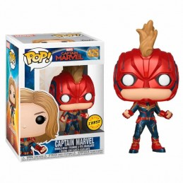 Funko POP CAPITANA MARVEL 425 Captain Marvel LIMITED CHASE EDITION