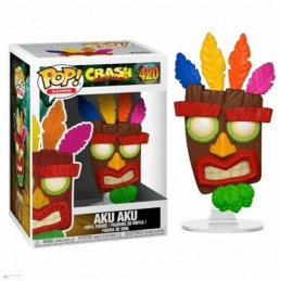 Funko POP AKU AKU 420 Crash Bandicoot Series 2