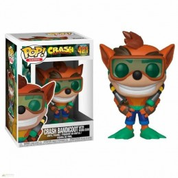 Funko POP CRASH BUCEADOR 421 Crash Bandicoot Series 2