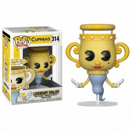 Funko POP LEGENDARY CHALICE 314 Cuphead Legendary Ghost