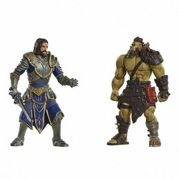 Pack 2 Figuras Warcraft LOTHAR Vs. HORDE WARRIOR