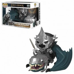 Funko POP WITCH KING ON FELLBEAST 63 El Señor de los Anillos
