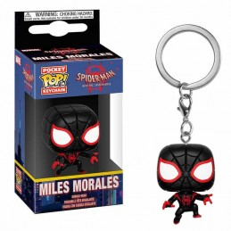 Llavero Pocket POP MILES MORALES Marvel Animated Spiderman