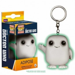 Llavero Pocket POP ADIPOSE Doctor Who Glow in the Dark