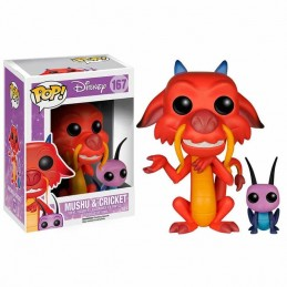 Funko POP MUSHU y CRICKET...
