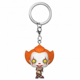 Llavero Pocket POP! PENNYWISE BEAVER HAT It Chapter 2