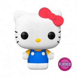 Funko POP HELLO KITTY CLASICA Sanrio FLOCKED