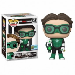 Funko POP LEONARD LINTERNA VERDE 836 THE BIG BANG THEORY EXCLUSIVE SDCC 2019