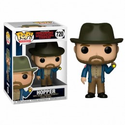 Funko POP HOPPER con LINTERNA 720 Stranger Things