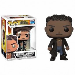 Funko POP ERIK KILLMONGER 386 Black Panther Marvel