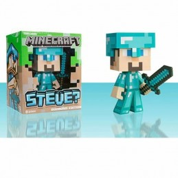 Figura Vinilo STEVE MINECRAFT 15 cm. DIAMOND EDITION