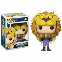 Funko POP LUNA LOVEGOOD CON CABEZA DE LEON 47 Harry Potter