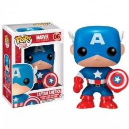 Figura FUNKO POP 06 CAPITÁN AMÉRICA Marvel