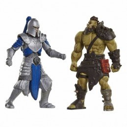 Pack 2 Figuras Warcraft ALLIANCE SOLDIER Vs. HORDE WARRIOR