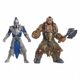 Pack 2 Figuras Warcraft ALLIANCE SOLDIER Vs. DUROTAN