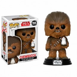 Funko POP Star Wars CHEWBACCA con PORG 195