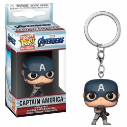 Llavero Pocket POP Keychain CAPITAN AMERICA Marvel...