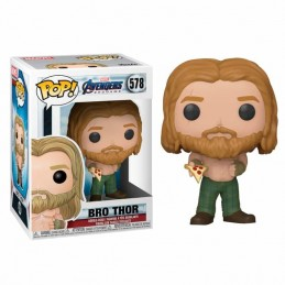 Funko POP MARVEL VENGADORES ENDGAME THOR con PIZZA 578