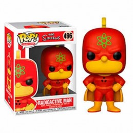 Funko POP RADIOACTIVE MAN Los Simpsons 496