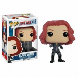 Funko POP BLACK WIDOW 132 Capitán América Civil War Marvel