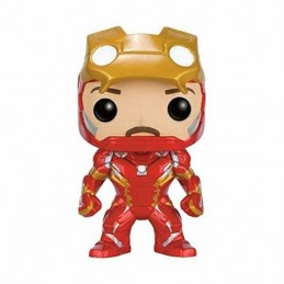 Funko POP IRON MAN UNMASKED 136 Capitán América Civil War...