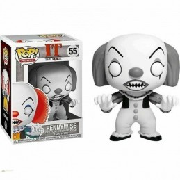 Figura FUNKO POP 55 PENNYWISE en Blanco y Negro It La...
