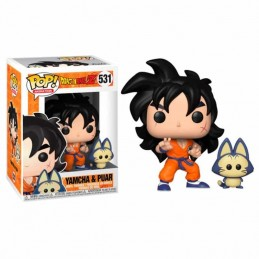 Funko POP YAMCHA & PUAR Dragon Ball Z 531