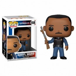 Funko POP DARYL WARD 558 Bright Netflix Movies
