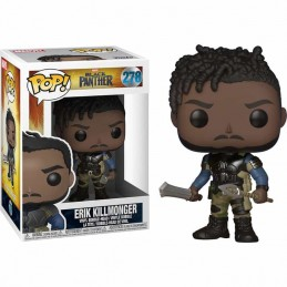 Funko POP Marvel Black Panther ERIK KILLMONGER 278