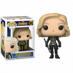 Funko POP BLACK WIDOW 295 Marvel Infinity War