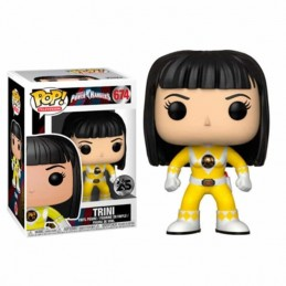 Figura FUNKO POP 674 TRINI Power Ranger AMARILLO sin...