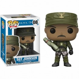 Funko POP HALO SGT JOHNSON 08