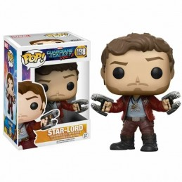 Funko POP STAR-LORD 198 Marvel Guardianes de la Galaxia
