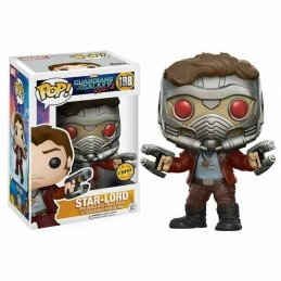 Funko POP STAR-LORD 198 Marvel Guardianes de la...