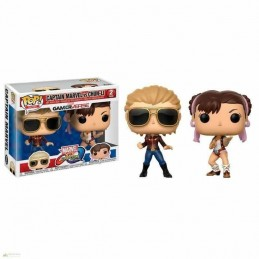 Set 2 Figuras FUNKO POP CAPTAIN MARVEL vs CHUN-LI Marvel...