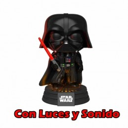 Funko POP STAR WARS DARTH VADER Electronic Con Luces...