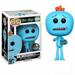 Funko POP Rick & Morty MR. MEESEEKS Con CAJA 180...