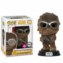 Funko POP 239 CHEWBACCA con GAFAS Star Wars FLOCKED...