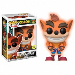 Funko POP CRASH BANDICOOT 273 Crash Bandicoot GITD...