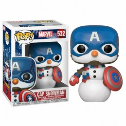 Funko POP CAPITÁN AMÉRICA Marvel Holiday 532