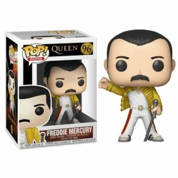 Funko POP FREDDY MERCURY WEMBLEY 1986 QUEEN 96