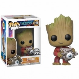 Figura FUNKO POP 280 GROOT con CIBER EYE Guardianes de la...