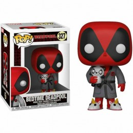 Figura FUNKO POP 327 BEDTIME DEADPOOL en BATA Marvel...