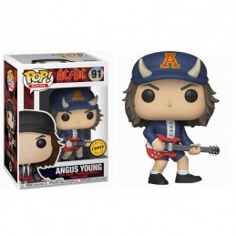 Figura FUNKO POP 91 ANGUS YOUNG Rocks AC/DC CHASE
