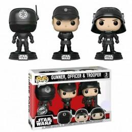 Set 3 figuras POP Star Wars Gunner Officer & Trooper Exclusive