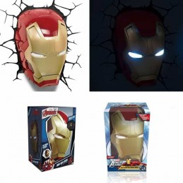 Marvel Lámpara 3D LED Iron Man