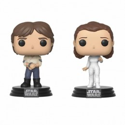 Pack 2 Funko POP HAN y LEIA...