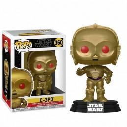Funko POP C-3PO RED EYES METALLIC 360 Star Wars EL ASCENSO DE SKYWALKER