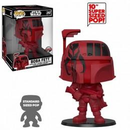 Funko POP Star Wars BOBA FETT RED Super Sized 25 cm. 297 Special Edition